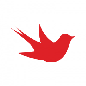 The Martlet Logo features a red martlet