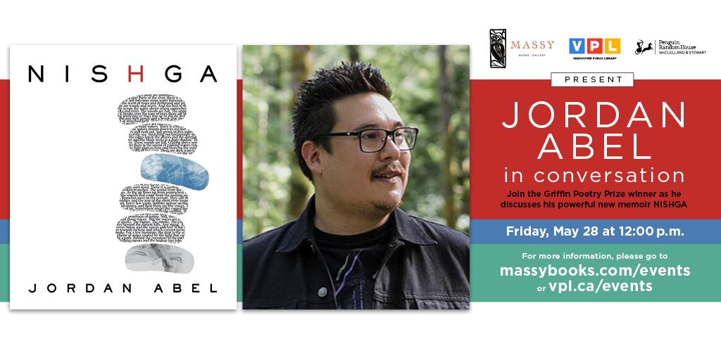 Nishga Vancouver Jordan Abel Launch